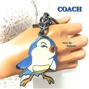Coach Accessories - Coach Disney Bluebird Keychain Bag Charm NWT